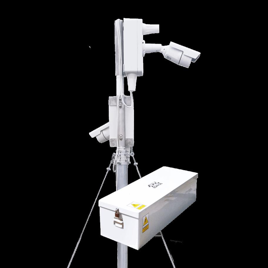 Przykładowy zestaw systemu monitoringu Sophus