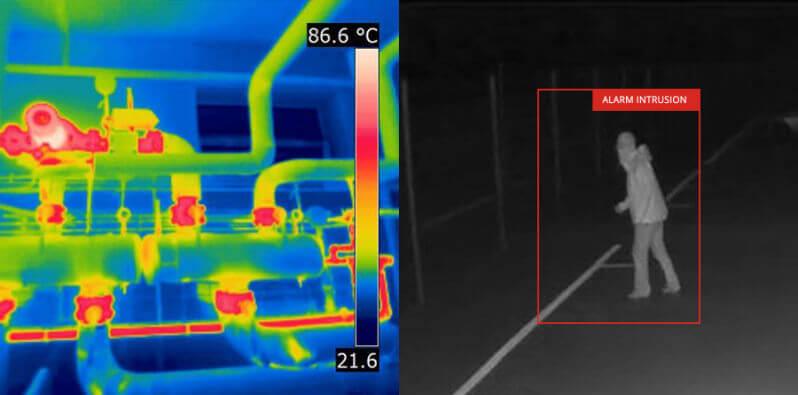 System monitoringu noktowizyjnego